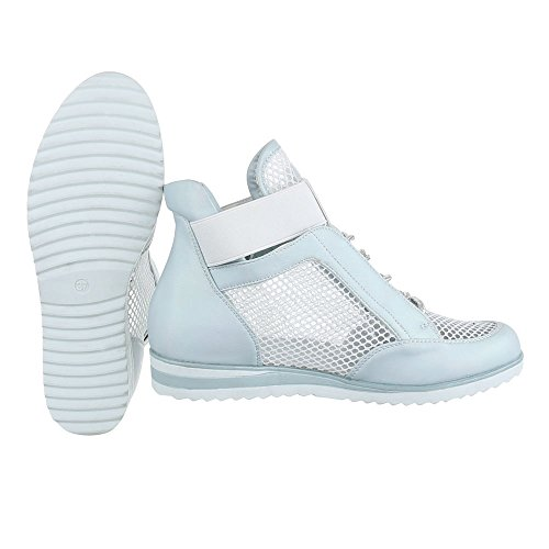 Ital-Design - Zapatillas altas Mujer , color Blanco, talla 41