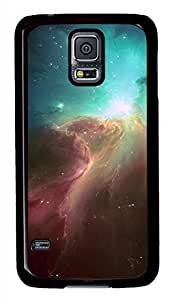 Fire In The Sky Black Hard Case Cover Skin For Samsung Galaxy S5 I9600