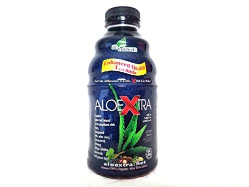 AloeXtra, Super Powered Liquid Blend of Antioxidant-Rich Fruits Plus Aloe Vera, Resveratrol, Ginseng, Ginkgo Biloba, Quercetin and More, 32oz.