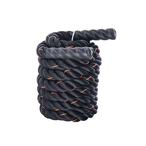UFC Fitness Training Rope, Battle Rope Body Strength Training Sport Exercise Fitness Bootcamp Battling Power Rope (Color : Diameter 38cm, Size : 12m) by BAI-Fine (Image #3)