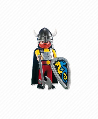PLAYMOBILÂ Playmobil Figures Set #7678 Viking Leader -