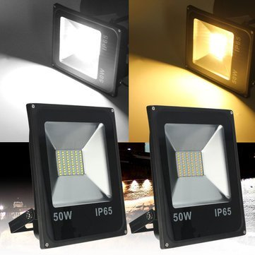 Outdoor Led Flood Light - Waterproof Led Flood Light - 50W 5730 Outdooors Waterproof LED Landscape Flood Garden Lamp - White (Landscape Flood Lights) by Unknown