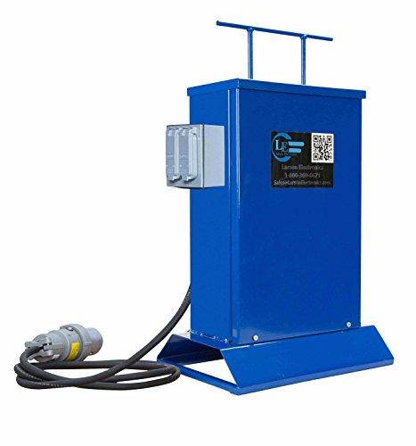 Transformer - 3000 VA - Converts 480V AC to 120V AC - (1) 20A GFCI Duplex Outlet (Transformer 120v Duplex)