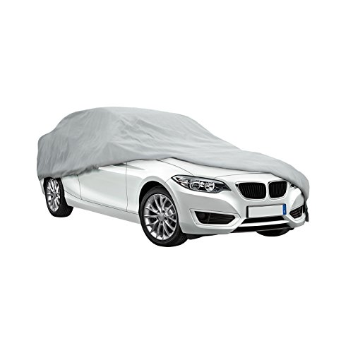 Ryzen Signature Series Car Cover - Waterproof Material and Seams w/ Soft Fleece Inner Lining and Scratchproof Grommets (Cars 191' to 210')