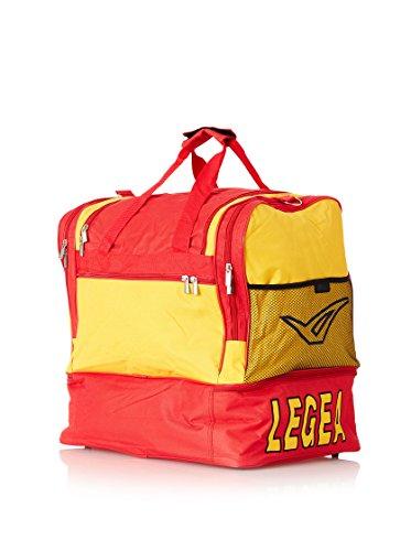 Legea Bolsa de fútbol Borsa Senior Sassari deportivo Gym gimnasia formación Amarillo / Rojo
