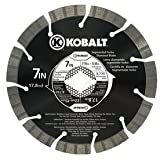 Kobalt 548870 7in Diamond Blade