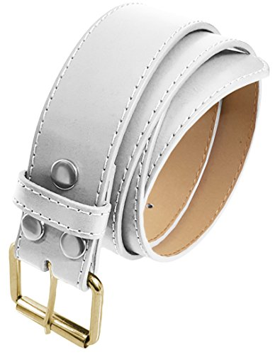 thick white belt - 6