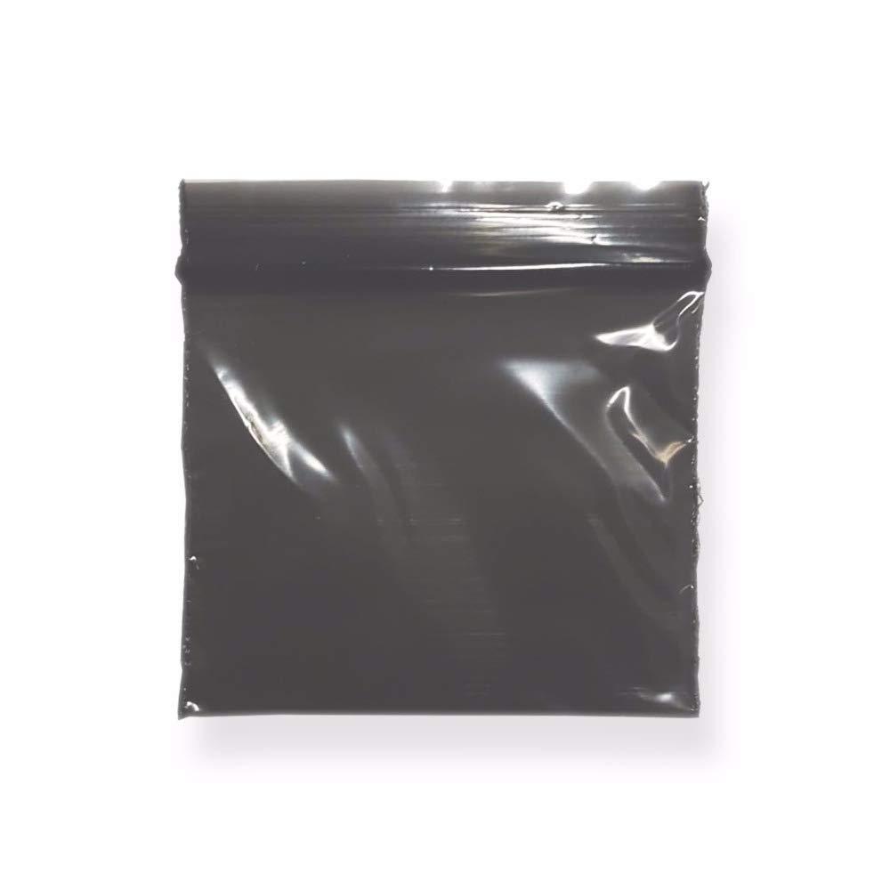 40 x 40 mm ZIP Druckverschluss Beutel Druckverschlussbeutel 500 Schwarz