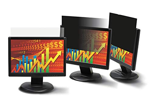 3M Privacy Filter for 22in Widescreen Monitor (16:10) (PF220W1B) (Renewed) by 3M (Image #2)