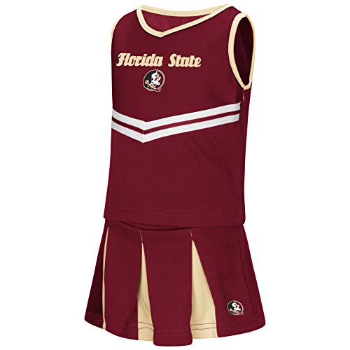 Florida State Halloween Costumes - Colosseum NCAA Toddler-Girls Team Cheer Set-Florida