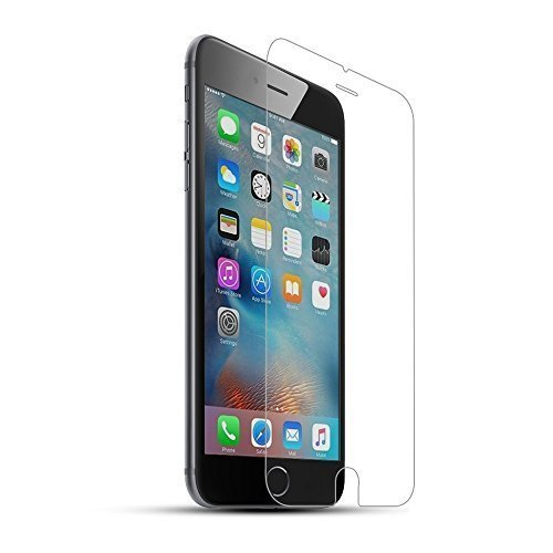 Iphone 6 plus Screen Protector,(wolf Totem®)0.3mm Ultra-thin Premium Toughened Glass Screen Protector for Iphone 6 Plus with 2.5d Rounded Edges(iphone 6 Plus 5.5 Inch Only)