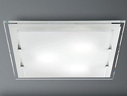 Plafoniere Quadrate Da Parete : Plafoniera da soffitto perenz lampada