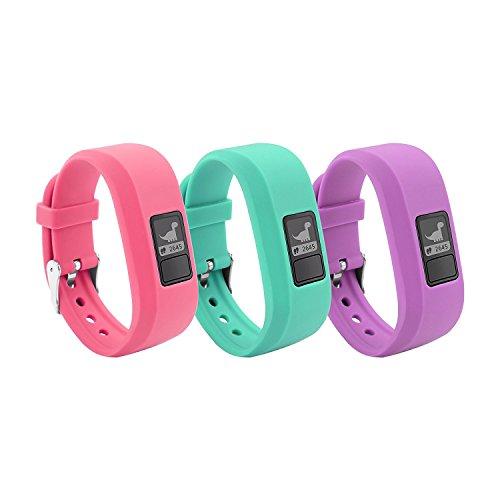 12 Colors Garmin Vivofit JR Bands With Secure Watch Clasp , BeneStellar Silicone Replacement Bands for Garmin Vivofit JR (for Kids)