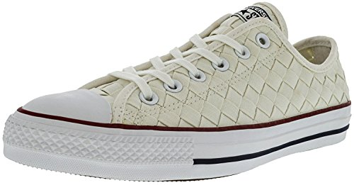 Converse Unisex Chuck Taylor All Star Ox Basketbalschoen Wit / Rood / Wit