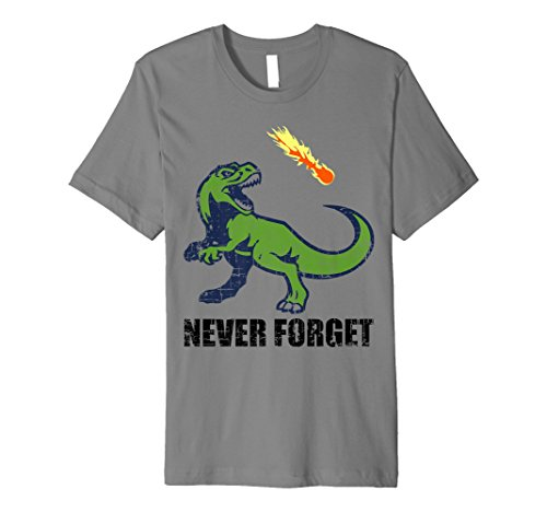 Never Forget The Awesome Dinosaurs I Asteroid T-Rex Tshirt ()