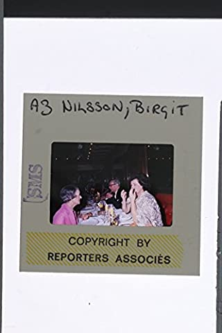 Slides photo of Birgit Nilsson was a celebrated Swedish dramatic soprano who specialized in operatic works of Wagner and Richard Strauss, though she sang the operas of many other composers, including Verdi and (Wagner Composer)