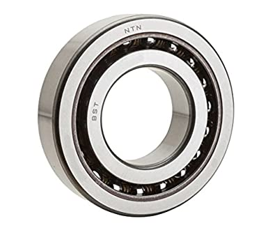 15 mm Width NTN Bearing BST17X47-1BP4 Single Row Angular Contact Thrust Ball Bearing 17 mm Bore ID 47 mm OD Open NTN   BST17X47-1BP4 Standard Preload P4 Tolerance 60 Degree Contact Angle