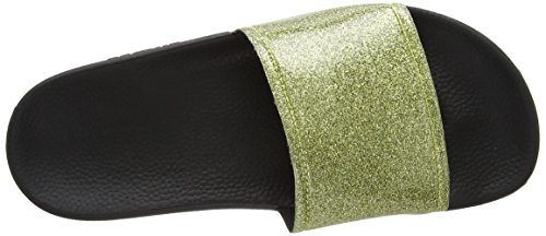 Slydes Champagne F - Sandalias Mujer Oro (Gold)