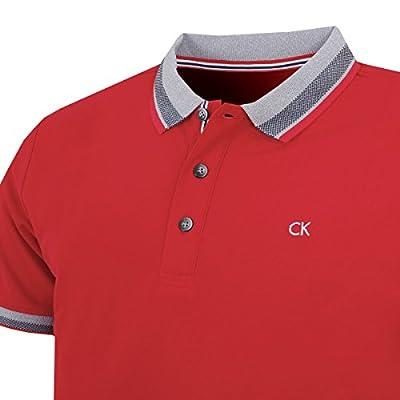 Calvin Klein Golf Men's Spark Polo, Red, M