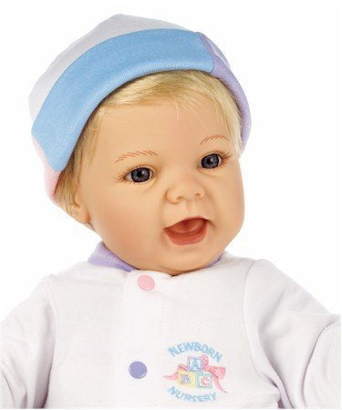 Lee Middleton Newborn Nursery Sweet Baby Blonde Hair/Blue Eyes #0928 by Lee Middleton Newborn Nursery