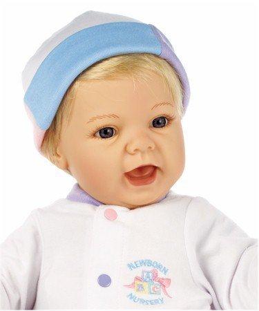 Lee Middleton Newborn Nursery Sweet Baby Blonde Hair/Blue Eyes #0928 by Lee Middleton Newborn -