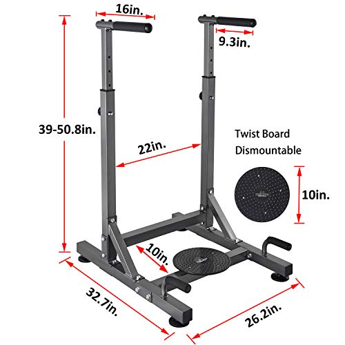 3133a0d96bef2 RELIFE REBUILD YOUR LIFE Dip Station Power Tower Exercise Training Parallel  Bar Ab Workout Sports Equipment Dip Stands for Home Gym