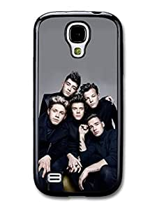 1D One Direction Gang Serious Group Shot case for Samsung Galaxy S4 mini A2601