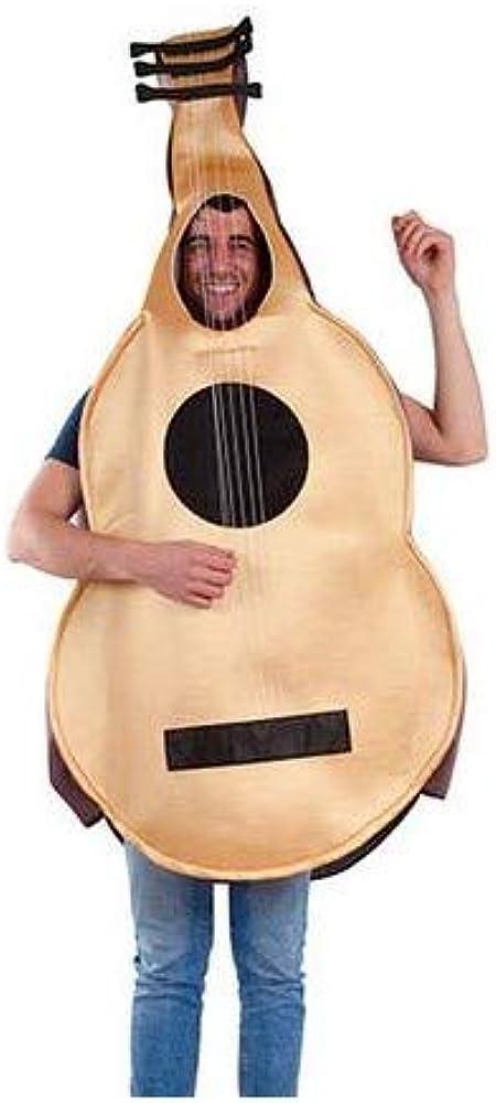Fycar Disfraz de Guitarra Española - Unisex, L: Amazon.es: Ropa y accesorios