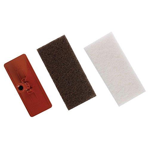 3M Orange Plastic Floor Scrubber Brush Pad Holder For Doodlebug (3m Doodlebug Pad)