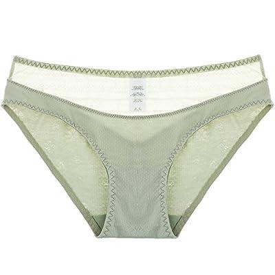 Rey&Qing Sous-Vêtements Féminins Taille Pantalon Respirant Coton Le Coton Sous-Vêtements Mémoires Fille Dame