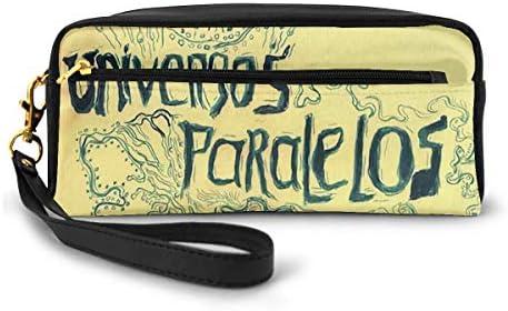 長財布 ポーチ 黄色い レザーバッグ 化粧バッグ おしゃれ かわいい 小型バッグ ペンケース クラッチポーチ メイクポーチ