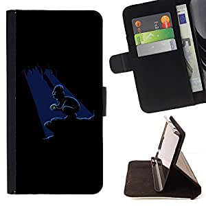 DEVIL CASE - FOR HTC One M9 - xxxx - Style PU Leather Case Wallet Flip Stand Flap Closure Cover