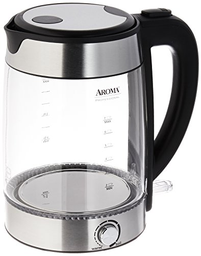 Aroma Housewares Awk-165M 1.7 L Electric Water Kettle, St...