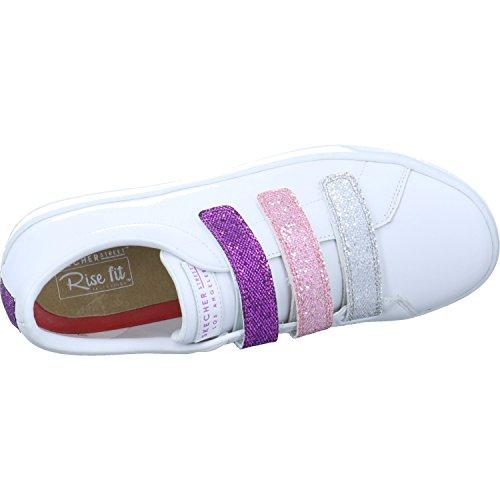 Skechers Prima Glitter Doos Dames Tennisschoen Wit