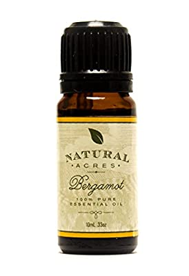 Bergamot Essential Oil - 100% Pure Therapeutic Grade Bergamot Oil by Natural Acres - 10ml from Natural Acres