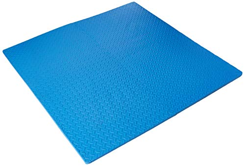 BalanceFrom Puzzle Exercise Mat with EVA Foam Interlocking Tiles for Exercise, MMA, Gymnastics and Home Gym Protective Flooring from BalanceFrom