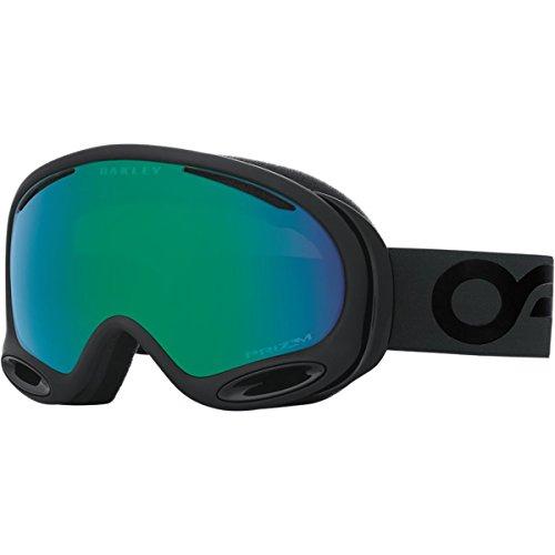 Oakley A-Frame 2.0 Goggles, Factory Pilot Blackout, Prizm Jade Iridium, - 2.0 Oakley Prizm A Goggles Frame