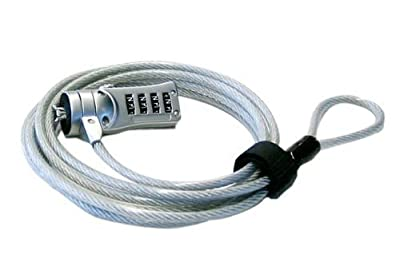 Sonline 6 foot Laptop Security Cable for Universal Notebook from Sonline