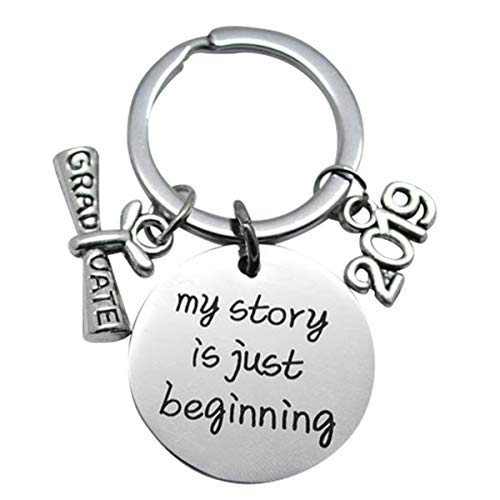Graduation Unique Gift - Graduation Gifts Graduation Keychain Inspirational Unique Graduates Gifts 2019 My Story is Just Beginning