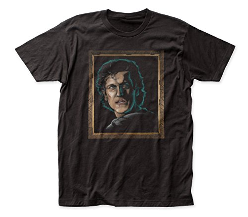 Army of Darkness Velvet Painting Suede Adult tee (XL) Black