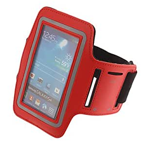Universal Sport Outdoor Armband Pouches for Samsung Galaxy S2 / S3 / S4 , White