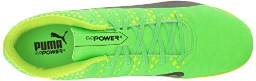 Puma Mens Evopower Vigör 4 Det Fotboll Sko Grön Gecko-puma Black-säkerhets Gul