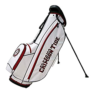 Image of Golf Bridgestone NCAA Collegiate Stand Bag (4-Way top, Alabama Crimson Tide)