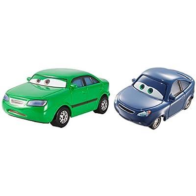 Disney/Pixar Cars Dan Sclarkenberg and Kim Carllins Vehicle 2-pack: Toys & Games