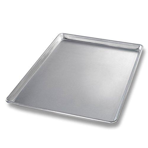 "Chicago Metallic 41500 Three-quarter-size Sheet Pan, 1"" Deep, Non-coated 18-ga. Aluminum"