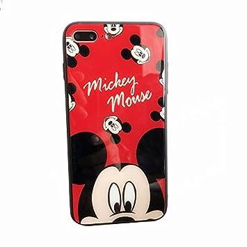 da28694d0c iPhone ケース 強化ガラスカバー ディズニーキャラクター レトロスタンダード Mickey Minnie 保護カバーブラケットiPhoneミッキー