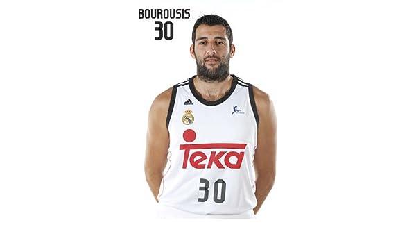 Postal Real Madrid Baloncesto Giannis Boroussis: Amazon.es: Hogar