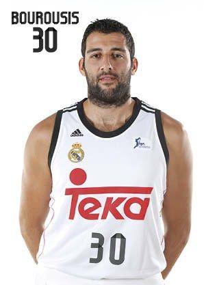 Postal Real Madrid Baloncesto Giannis Boroussis: Amazon.es ...