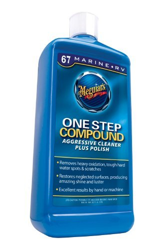 Meguiar's M6732 Marine/RV One Step Compound - 32 oz., Model: M6732, Outdoor&Repair Store by Hardware & Outdoor