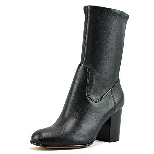 Coach Bond Women US 5.5 Black Mid Calf (High Heel Nappa Ankle Boot)